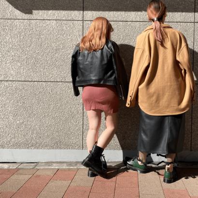 身長低め&高めのアラサー女子が教えるマーチン正解コーデ【153㎝/167㎝】